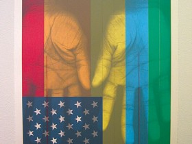 Patriot Series, I Pledge Allegiance, closer view