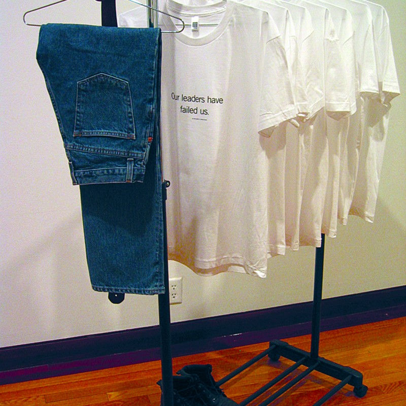 Artwork Uniform of the Day gallery installation