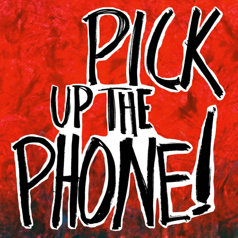 Artwork Pick up the phone from Written Text Series