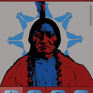 Sitting Bull Mobile App Icon