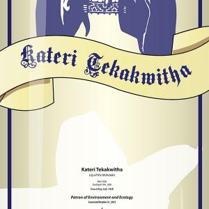 Kateri Tekakwitha Mobile App Icon